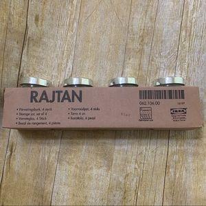 RAJTAN Storage Spice Jar, set of 4 from Ikea